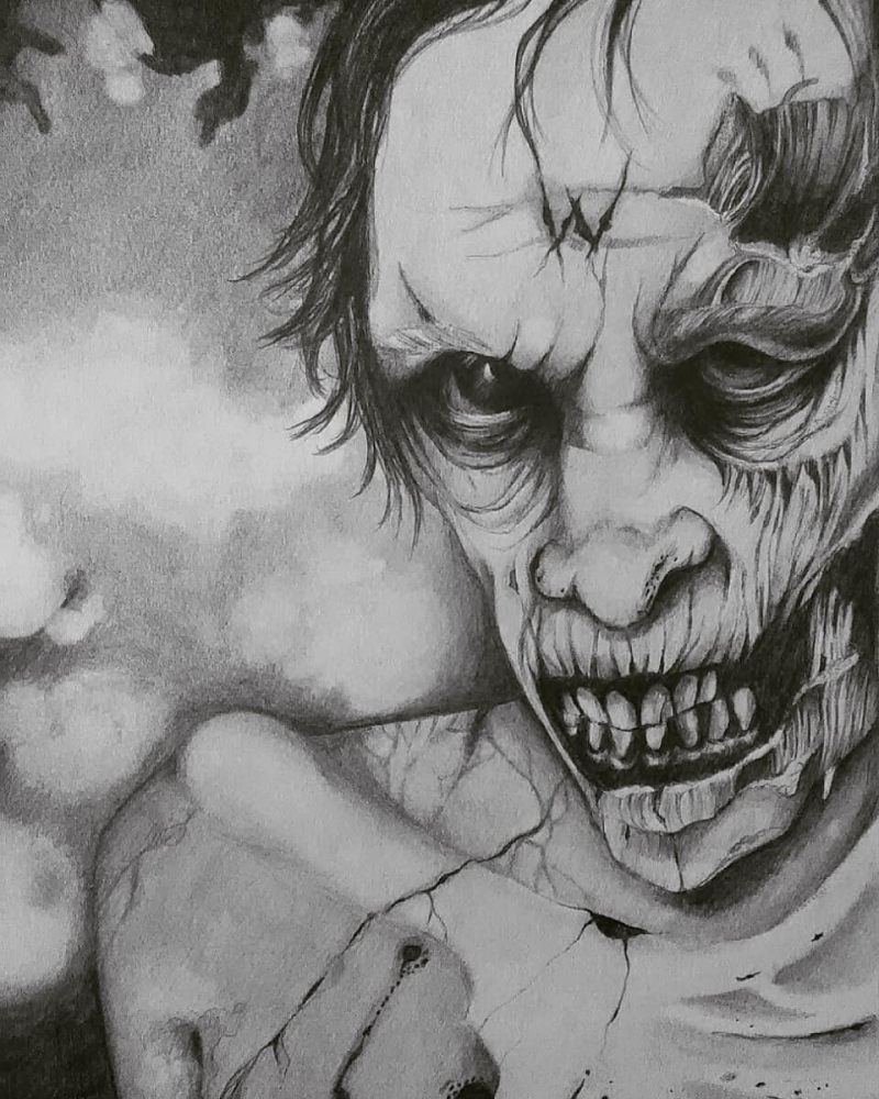 The Walking Dead characters by yvneepenper